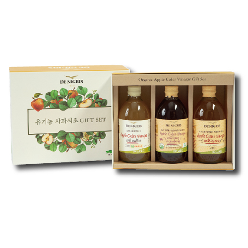드니그리스 유기농 사과식초 선물세트 1호, 1세트