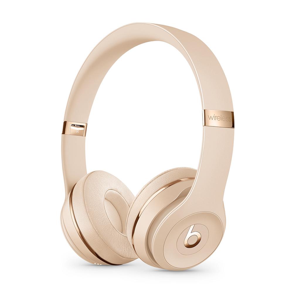 Apple Beats Solo3 무선 헤드폰, 새틴 골드, MX462PA/A