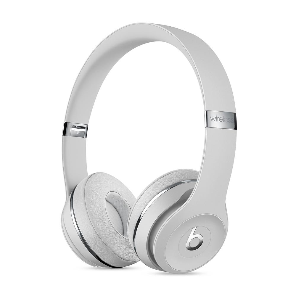 Apple Beats Solo3 무선 헤드폰, 새틴 실버, MX452PA/A