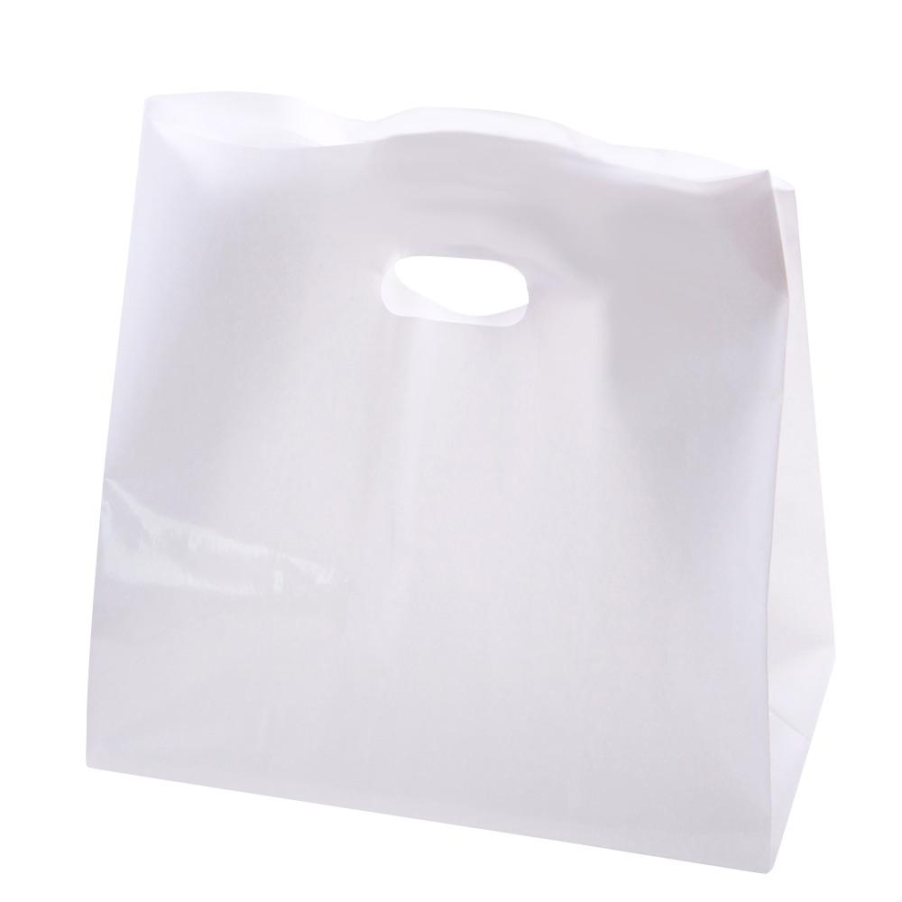 PE 비닐 쇼핑백 50p, 화이트