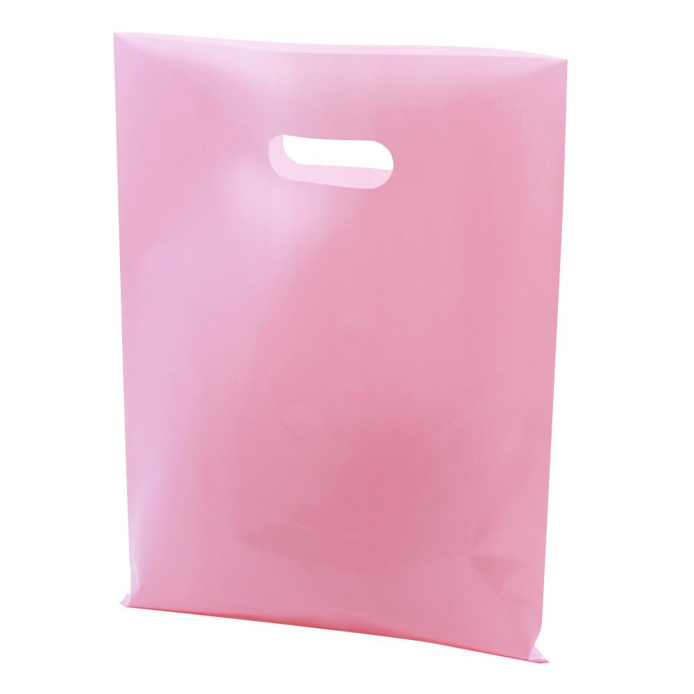 PE 비닐 쇼핑백 50p, 핑크