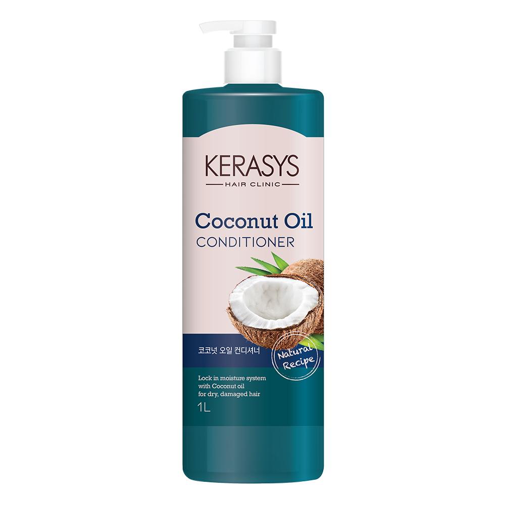 케라시스 코코넛오일 컨디셔너 플라워향, 1L, 1개