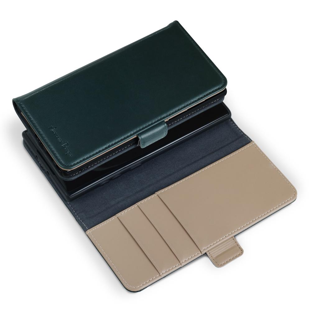 어썸디자인 프랑 수제 가죽 지갑 다이어리 휴대폰 케이스