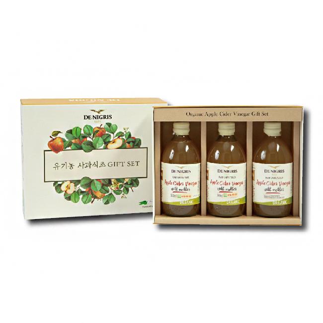 드니그리스 유기농 사과식초 오리지널 2호 선물세트, 1세트