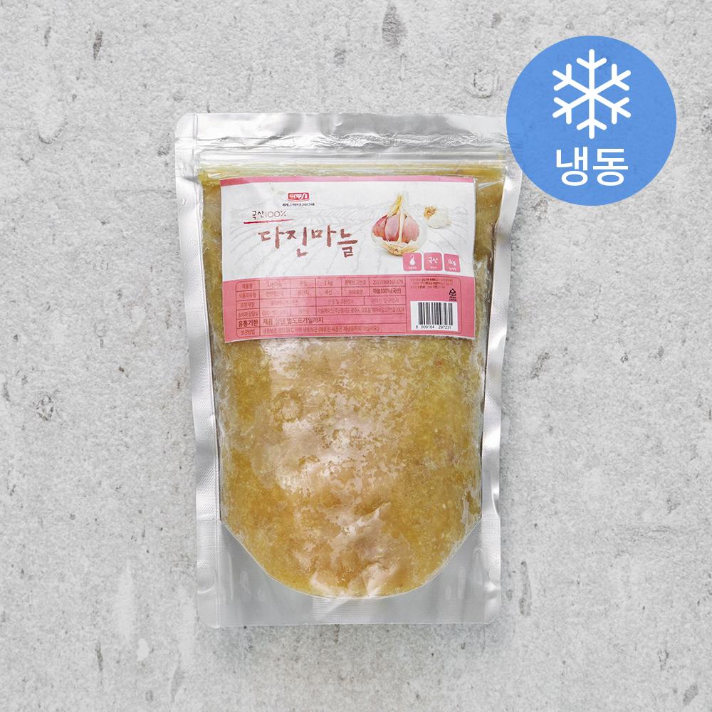 나무새 다진마늘 (냉동), 1kg, 1개