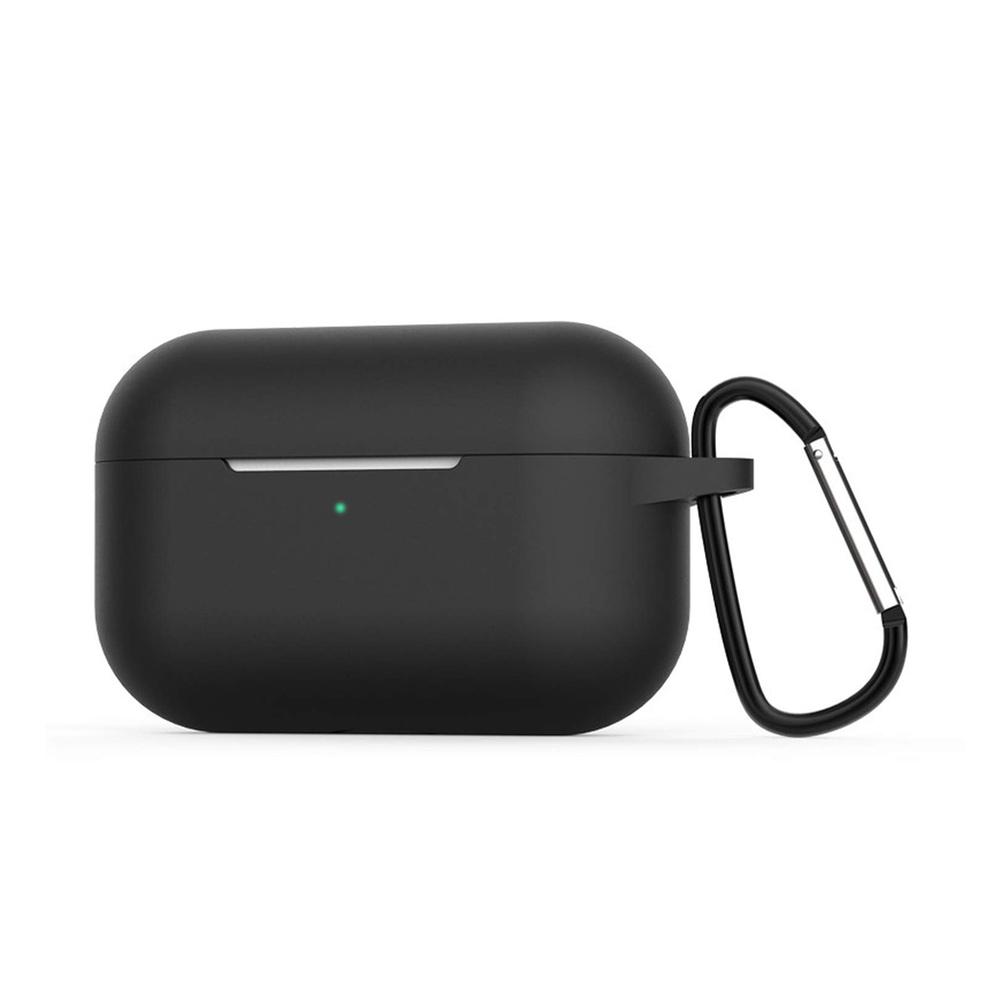 요이치 브링m 에어팟 프로 실리콘 케이스 c타입, 단일 상품, 블랙