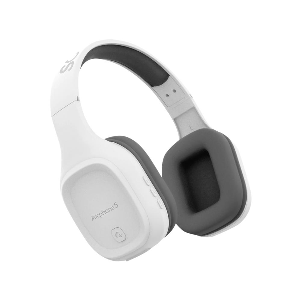 소닉기어 NEW 에어폰5 블루투스 헤드폰, 화이트, Airphone5