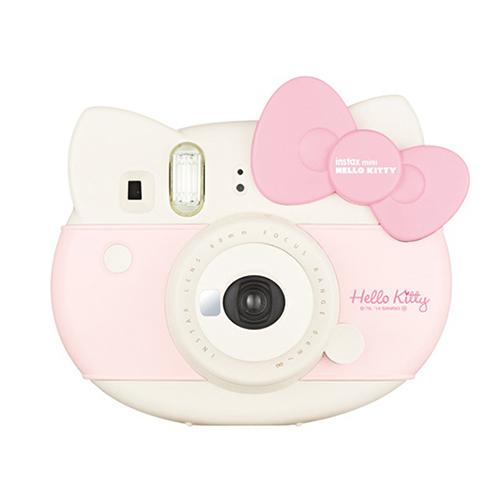 후지필름 인스탁스 미니8 헬로키티 폴라로이드 카메라, 단일 상품, 1개