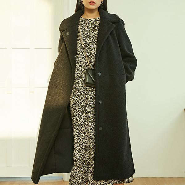 SOLOIST 여성용 테디베어 리버시블 무스탕 코트 FAEJ4904