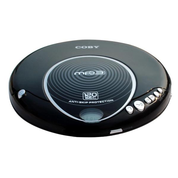 코비 휴대용 MP3 cd플레이어, MP-CD521, 블랙