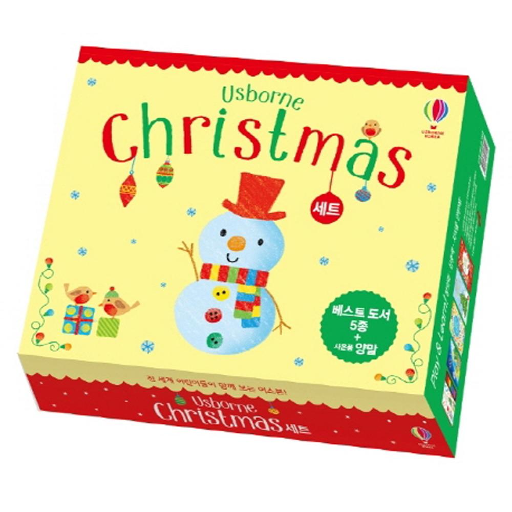 어스본 크리스마스 도서 5p 선물 세트 + 양말 랜덤 발송, 어스본코리아