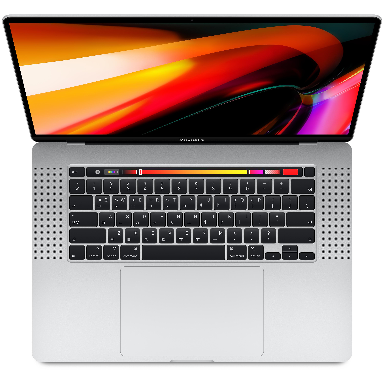 Apple 2019년 맥북 프로 16, 9세대 i7, 16GB, SSD 512GB, 실버, AMD Radeon Pro 5300M