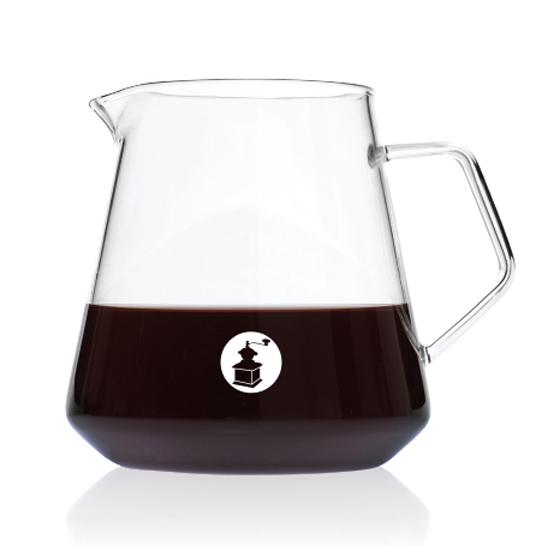 Baristar 유리 커피서버 600ml BG1, 1개