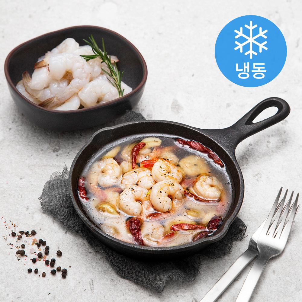 프라이드 흰다리 새우살 (냉동), 900g (62~80 마리), 1개