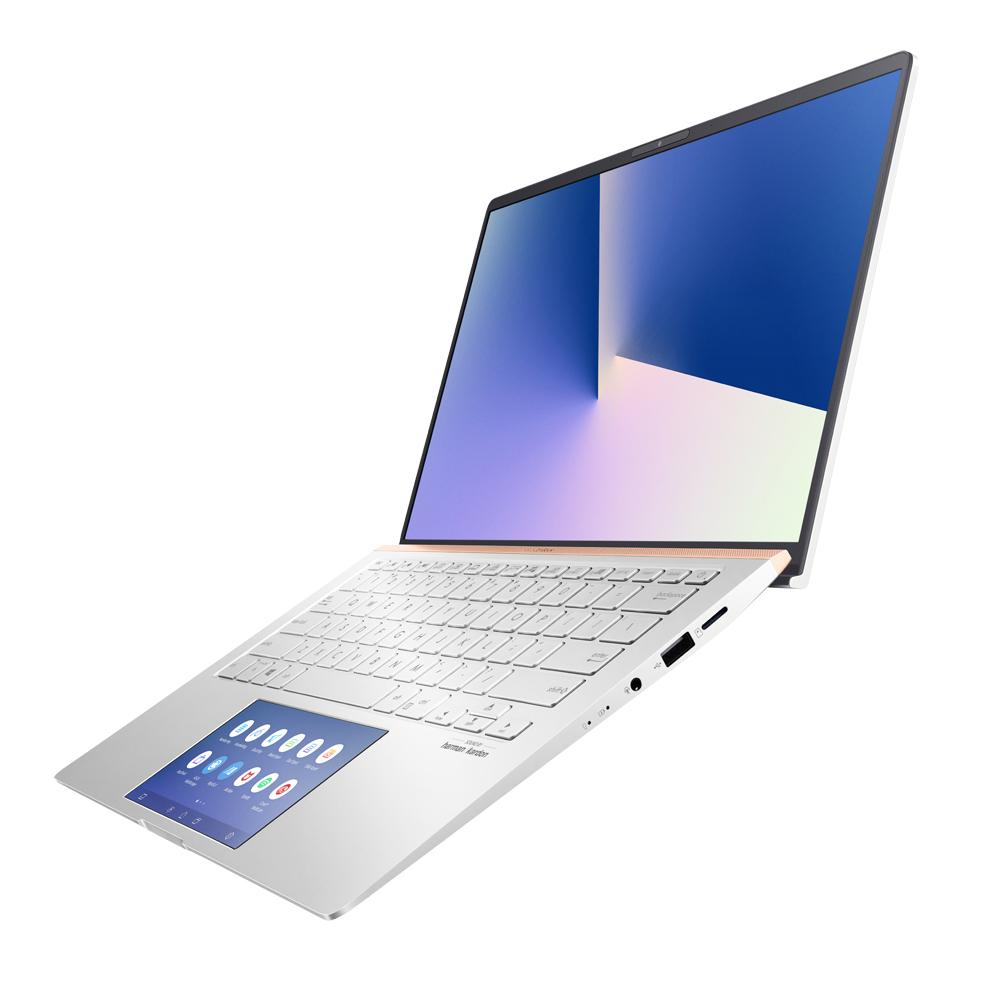 에이수스 젠북14 스크린패드 UX434FLC-A6339T (10세대 코어i7-10510U 35.56cm WIN10) 아이시클 실버, 포함, 1TB, 16GB