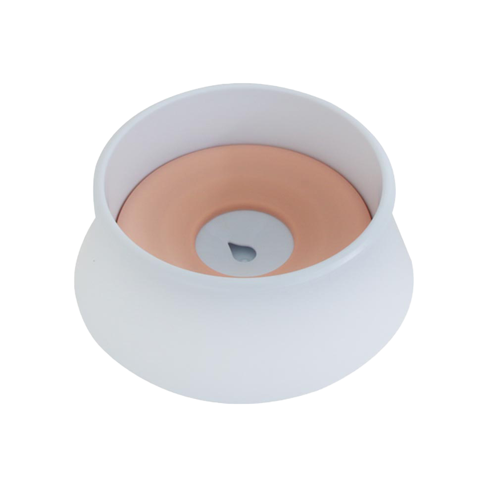 펫트롱 칼라풀 스탠드 물그릇 PTR283, 핑크, 1개