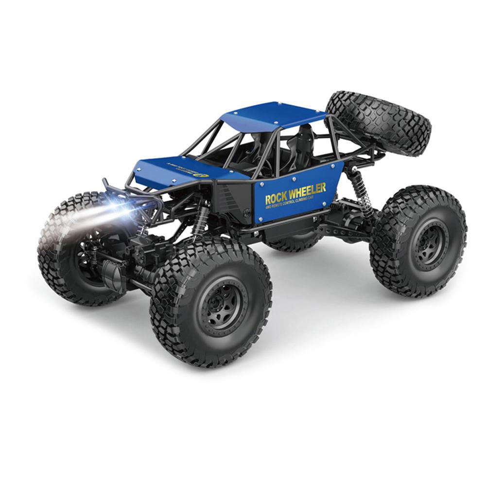 이지휠 오프로드 4륜 구동 몬스터트럭 017 무선조종 초급용 RC카, 블루