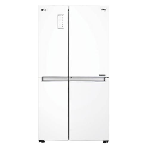 LG전자 디오스 양문형냉장고 S831W30 821L 방문설치