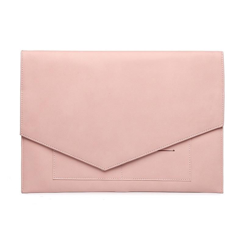 BAGnBAGs 맥북 슬림 노트북 파우치 X-12, 핑크