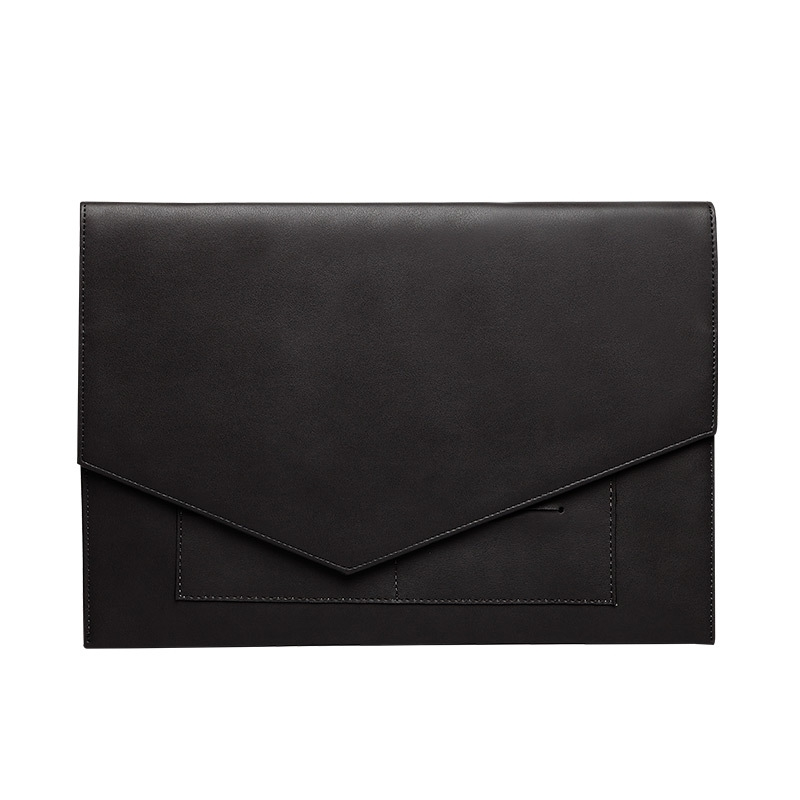 BAGnBAGs 맥북 슬림 노트북 파우치 X-12, 블랙