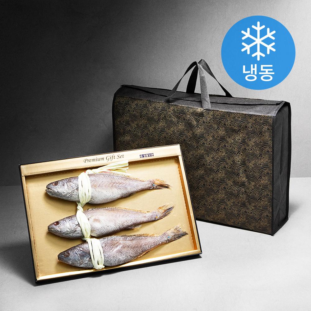[Gold box] 민어굴비 3미 (냉동), 1.2kg, 1개 - 랭킹9위 (35900원)