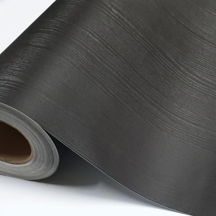 인테리어 시트지 IOR-14, 무늬목 페인티드블랙