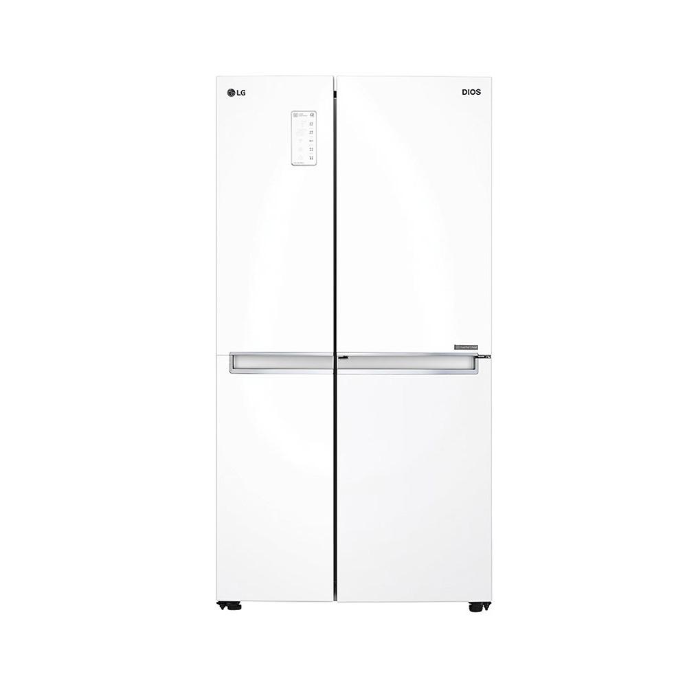 LG전자 디오스 양문형냉장고 S831W32 821L 방문설치