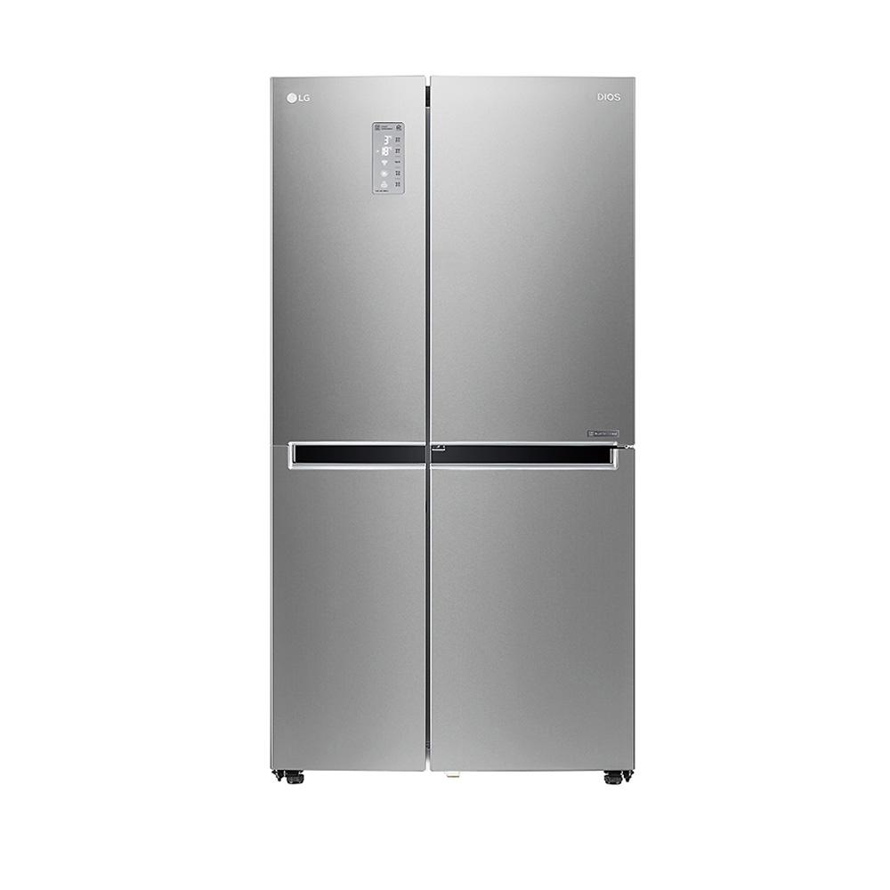 LG전자 디오스 양문형냉장고 S831SS30 821L 방문설치