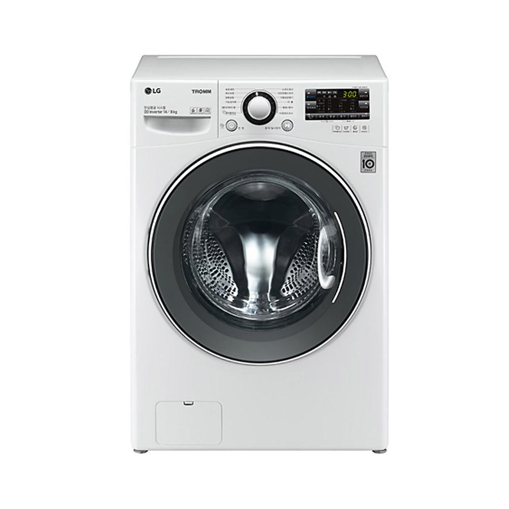 LG전자 트롬 건조겸용 드럼세탁기 FR14WQT 14kg 방문설치