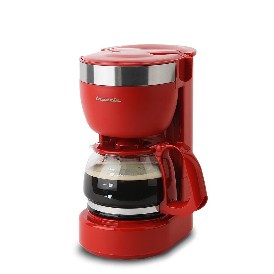 라쿠진 홈카페 미니 커피메이커, LCZ1002BU(버건디)