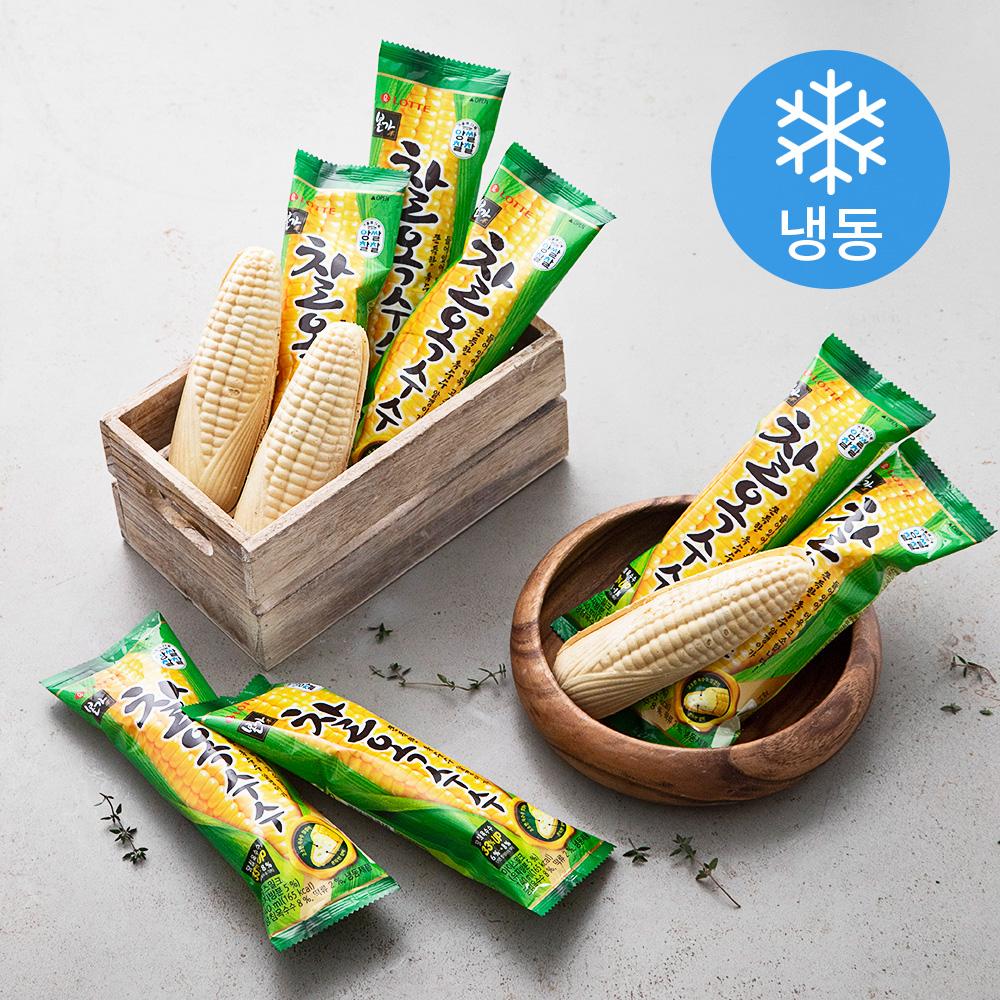 롯데제과 본가 찰옥수수 (냉동), 140ml, 24개
