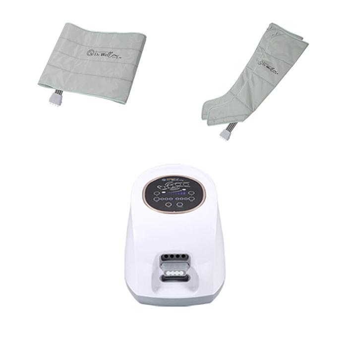 닥터웰 에어웨이브 공기압마사지기 DR-5180 + 다리커프 2p + 허리커프