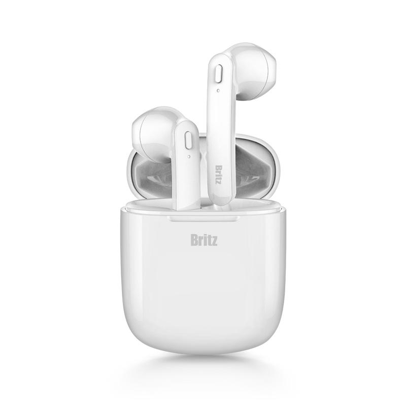 브리츠 오픈형 블루투스이어폰 LuxTWS5 White