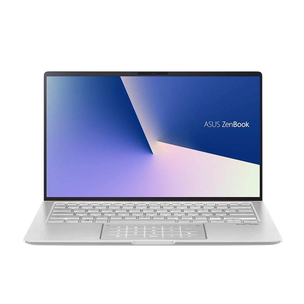에이수스 ZenBook 14 노트북 아이시클 실버 UM433DA-A5002 (R5-3500U 35.5cm WIN미포함 Vega8 Graphics), 미포함, SSD 512GB, 8GB