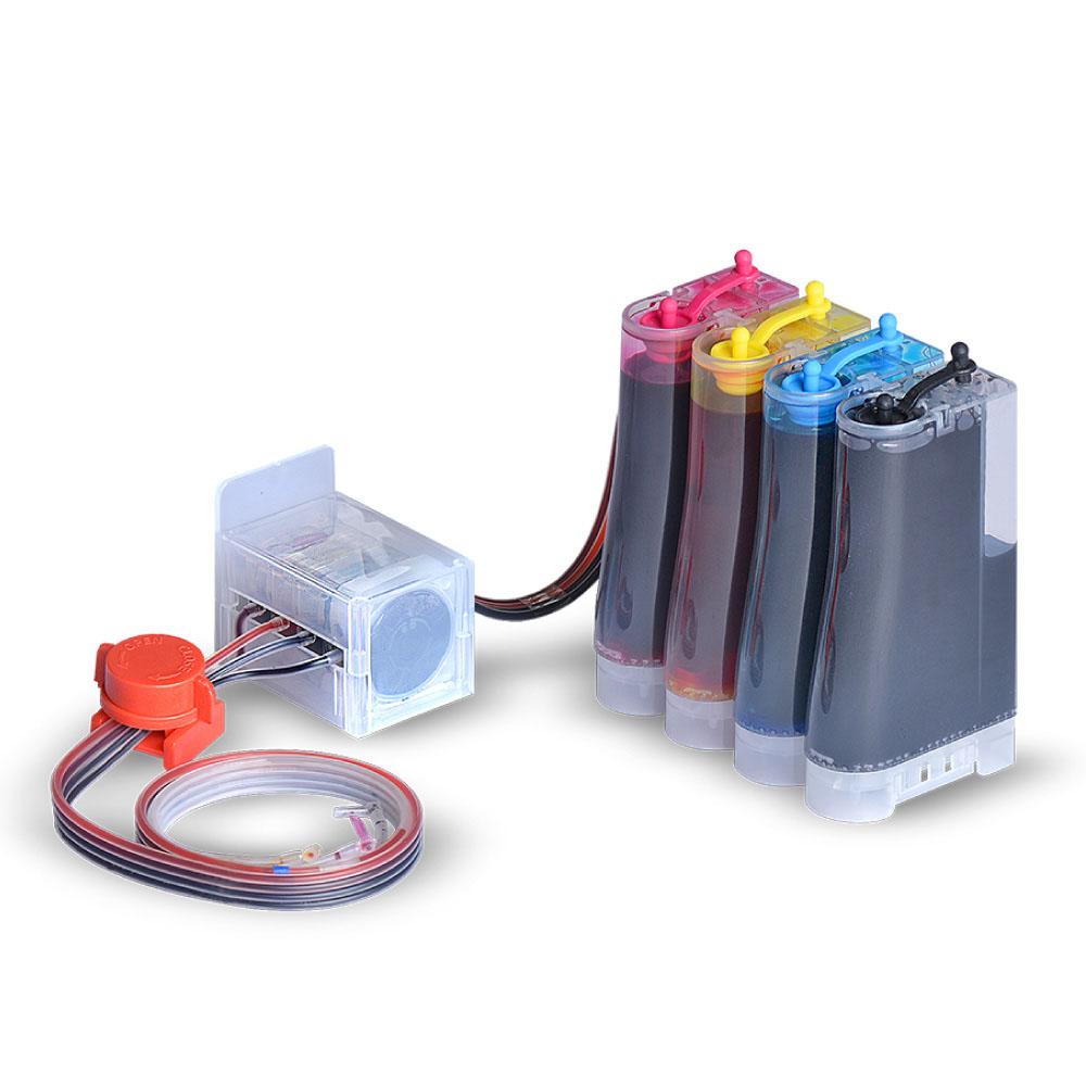 잉크타임 삼성 SL-J1660 & SL-J1663 & SL-J1665 & M180 & C180 전용 DIY 잉크 무한공급기 300ml, 혼합 색상, 1개