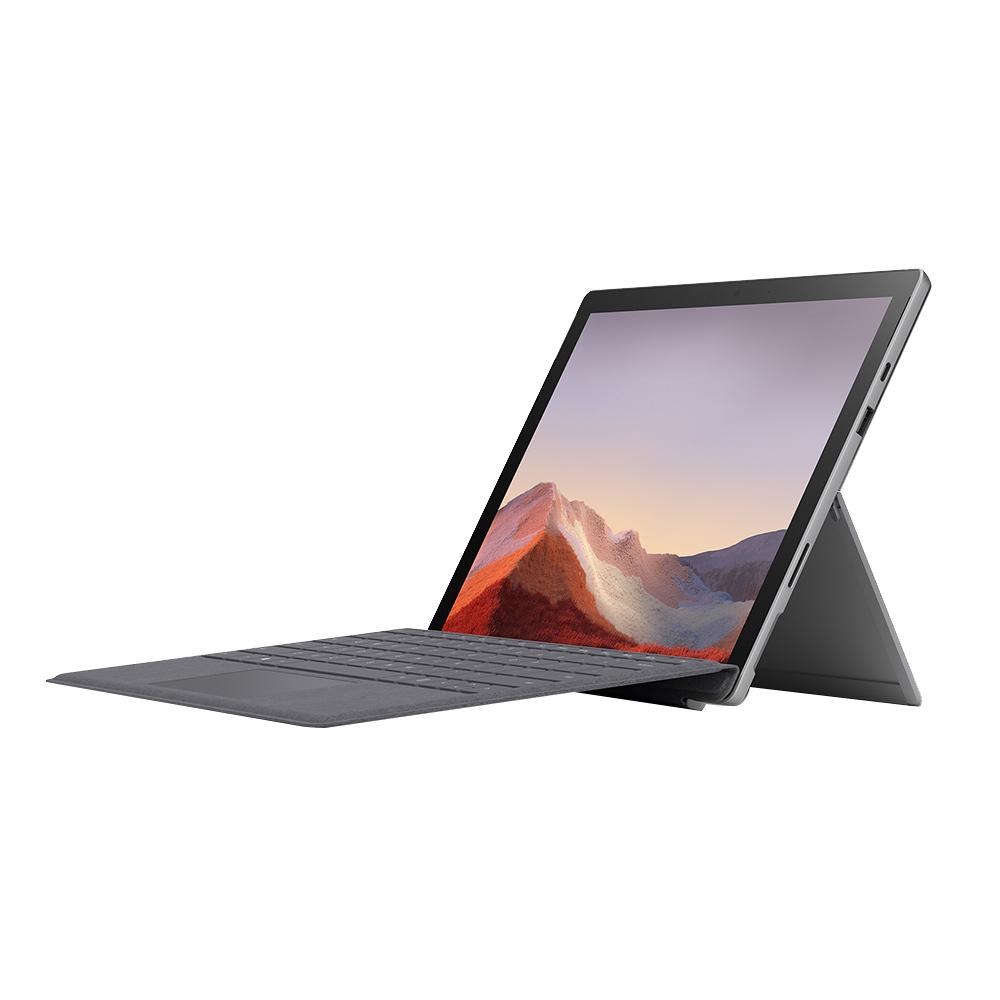 마이크로소프트 서피스 프로7 노트북 플래티넘 VDV-00010 (10세대 i5-1035G4 31.2cm WIN10) 시그니처 플래티넘 타입커버 세트, 포함, SSD 128GB, 8GB