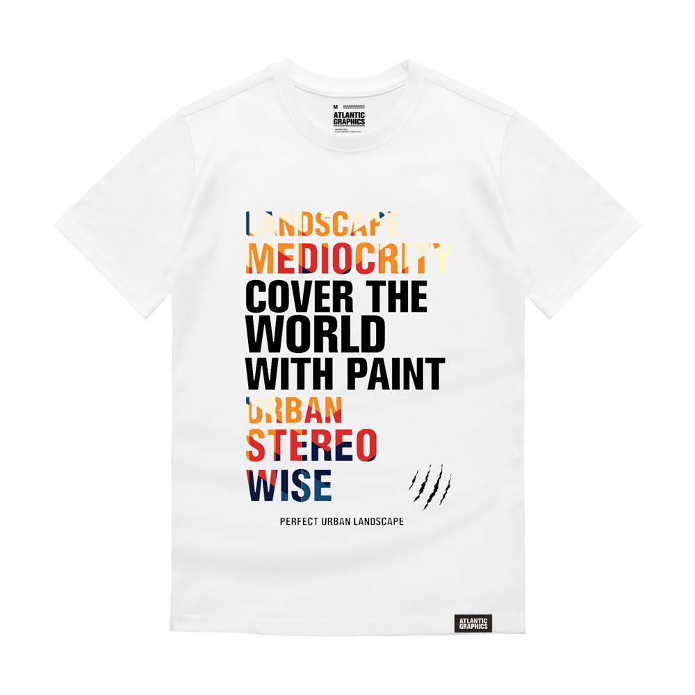 아틀란틱그래픽스 반팔 티셔츠 AT015
