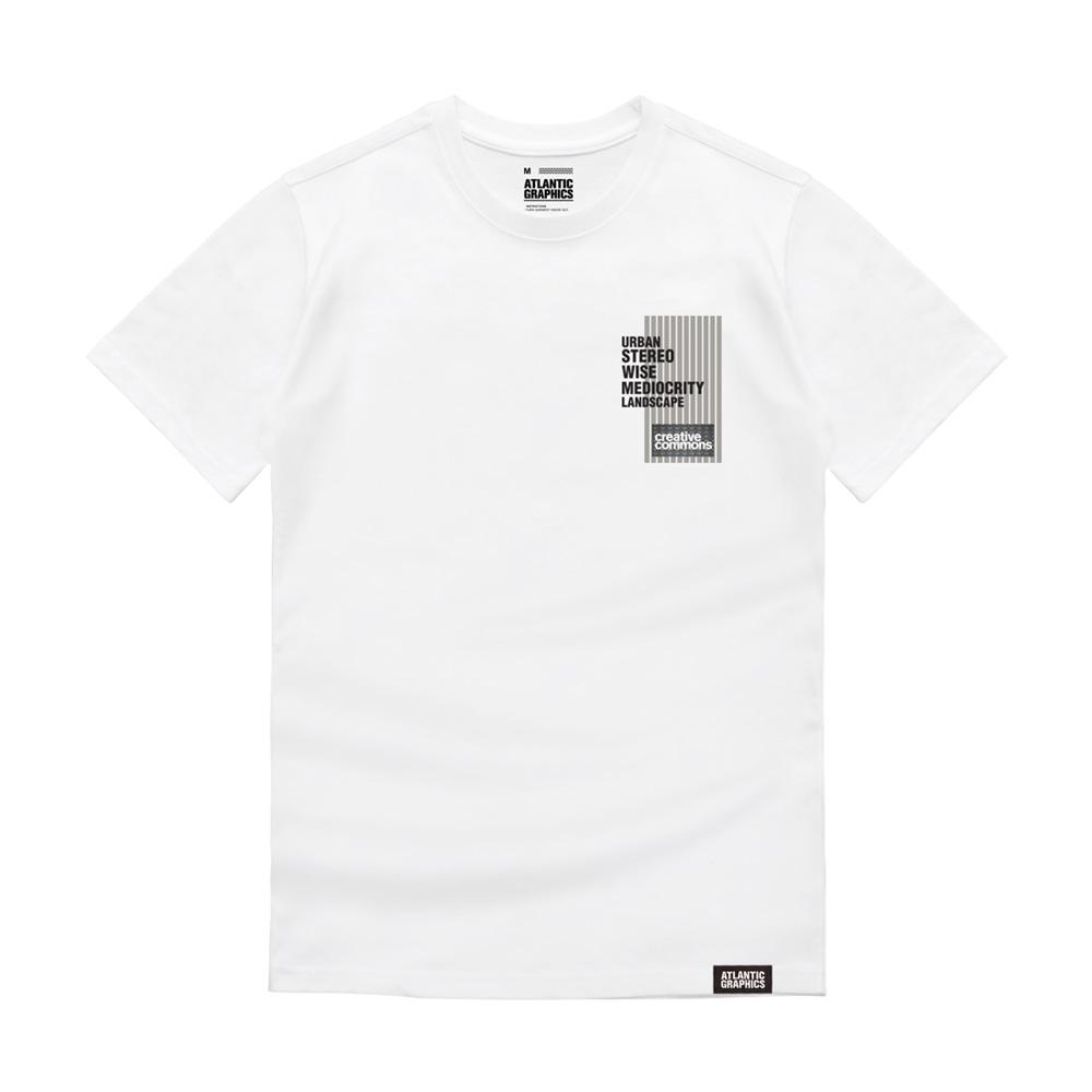 아틀란틱그래픽스 남녀공용 반팔 티셔츠 AT001