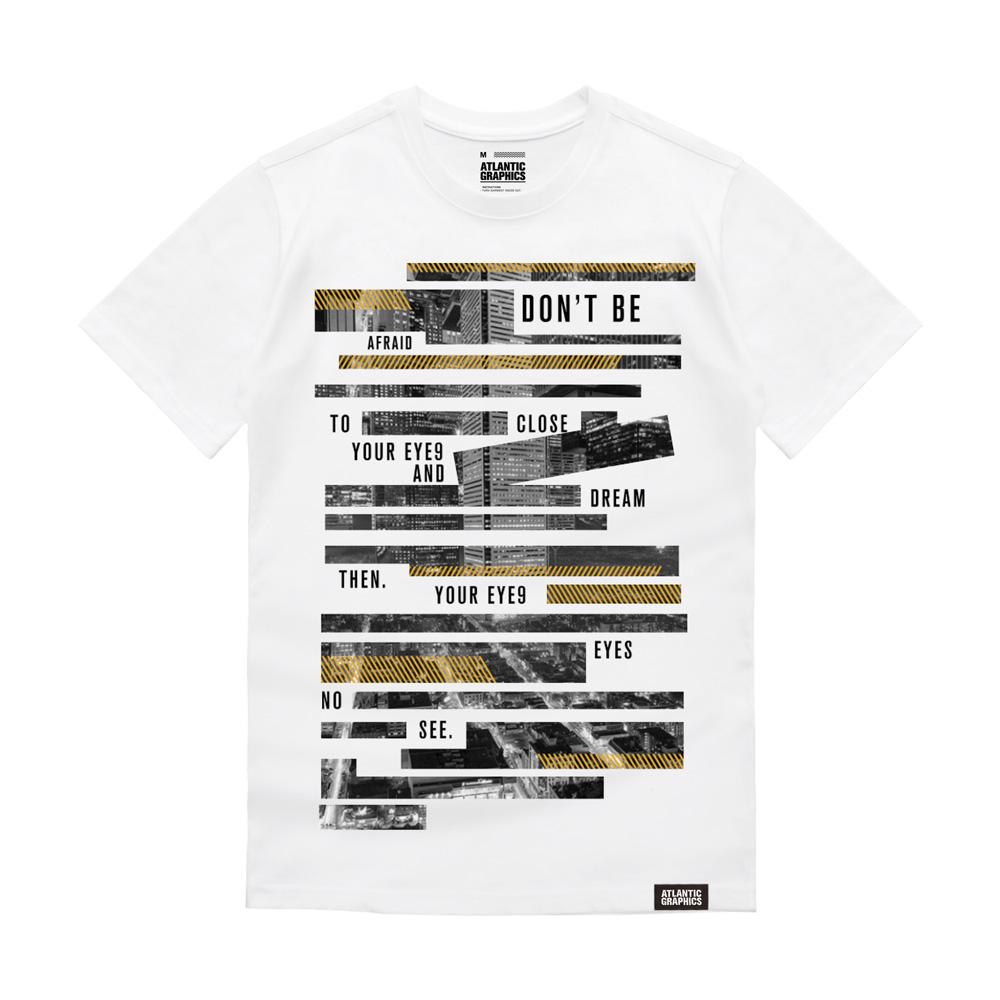 아틀란틱그래픽스 반팔 티셔츠 AT005