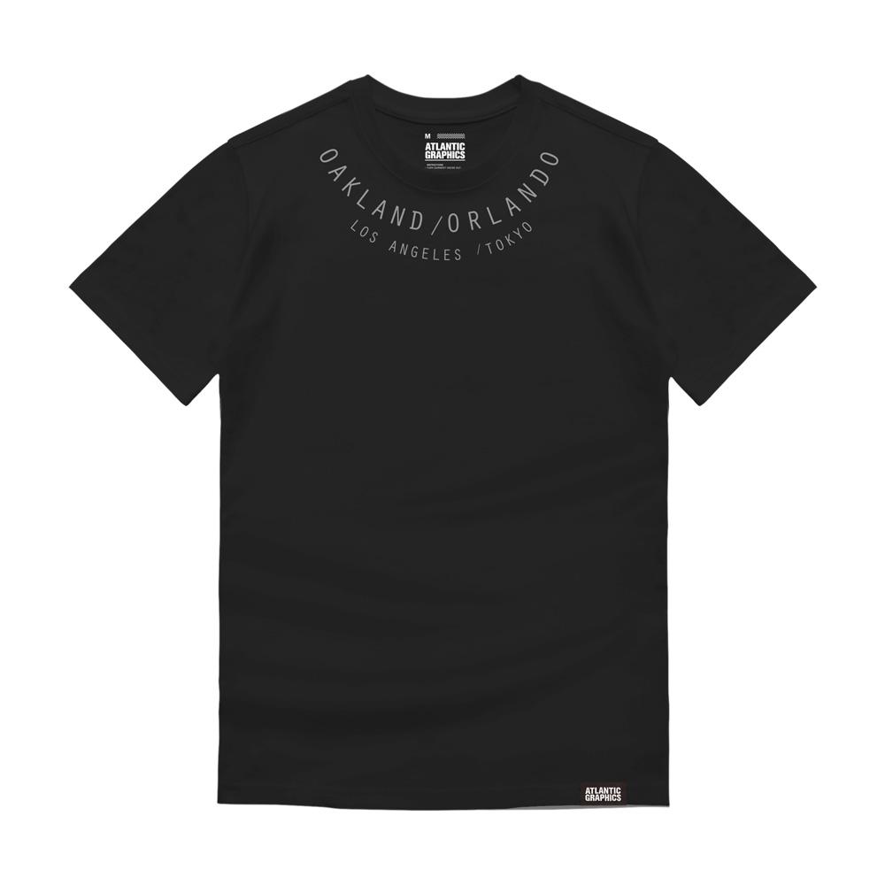 아틀란틱그래픽스 반팔 티셔츠 AT014