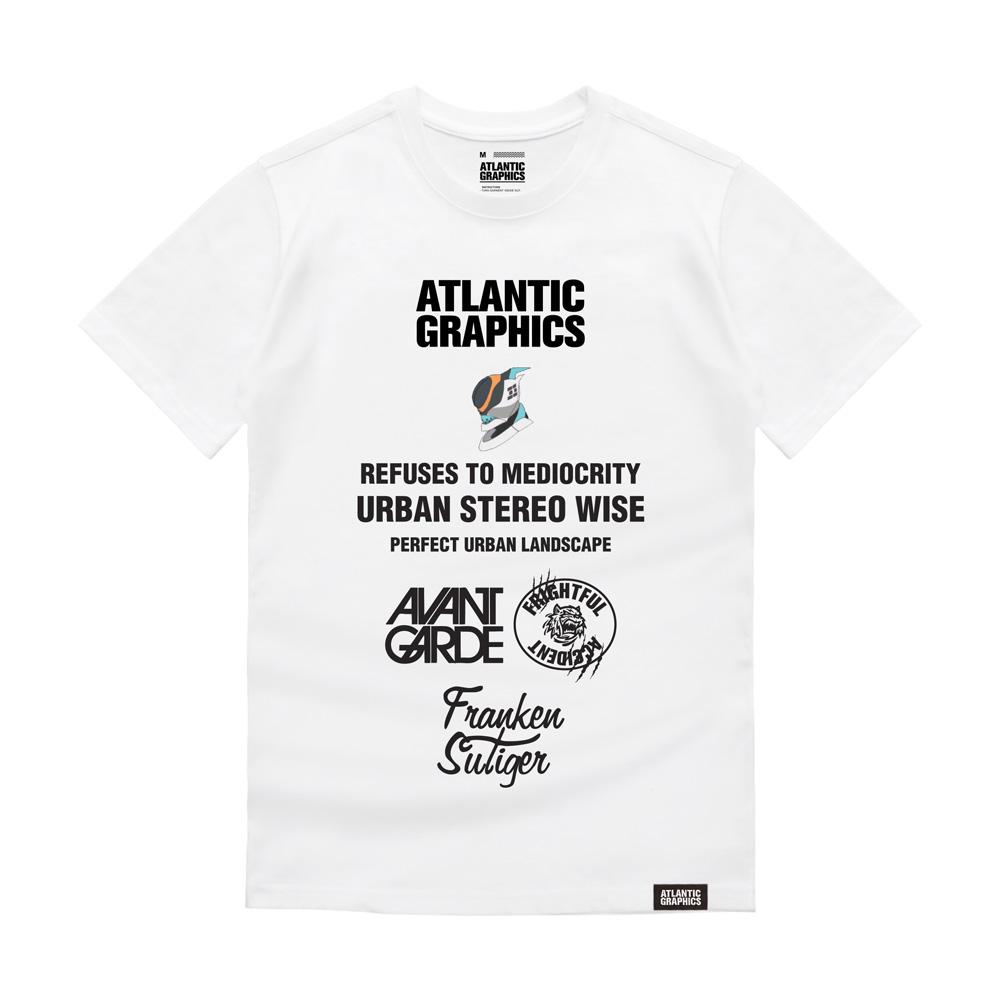 아틀란틱그래픽스 반팔 티셔츠 AT003