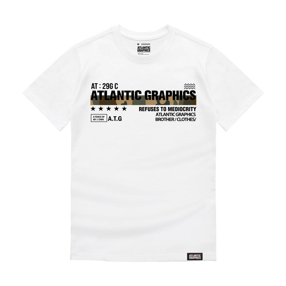 아틀란틱그래픽스 반팔 티셔츠 AT013