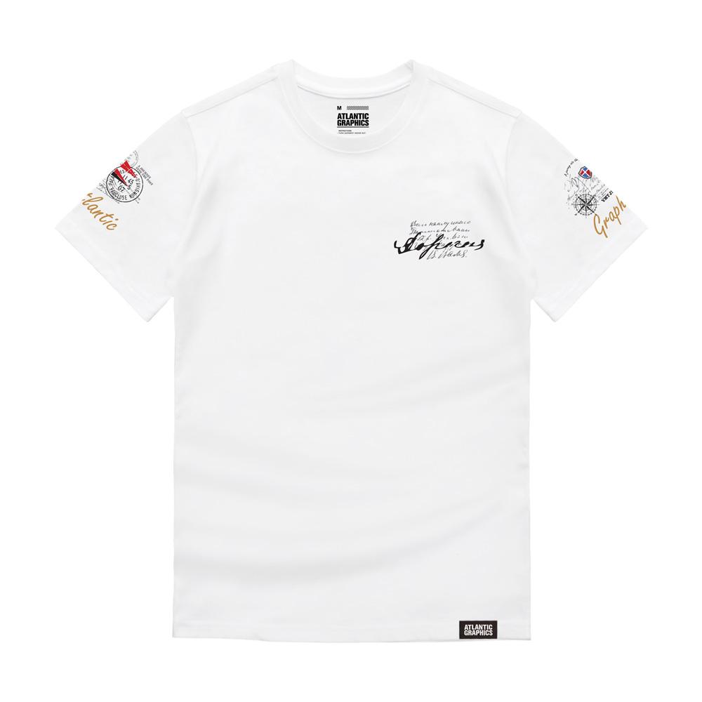 아틀란틱그래픽스 남녀공용 반팔 티셔츠 AT009