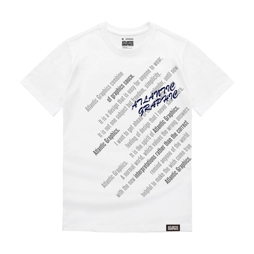 아틀란틱그래픽스 반팔 티셔츠 AT008