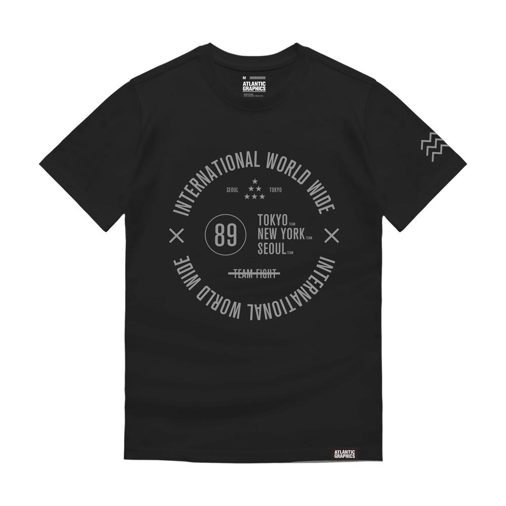 아틀란틱그래픽스 반팔 티셔츠 AT018