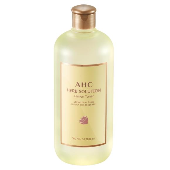 AHC 허브 솔루션 레몬 토너, 500ml, 1개