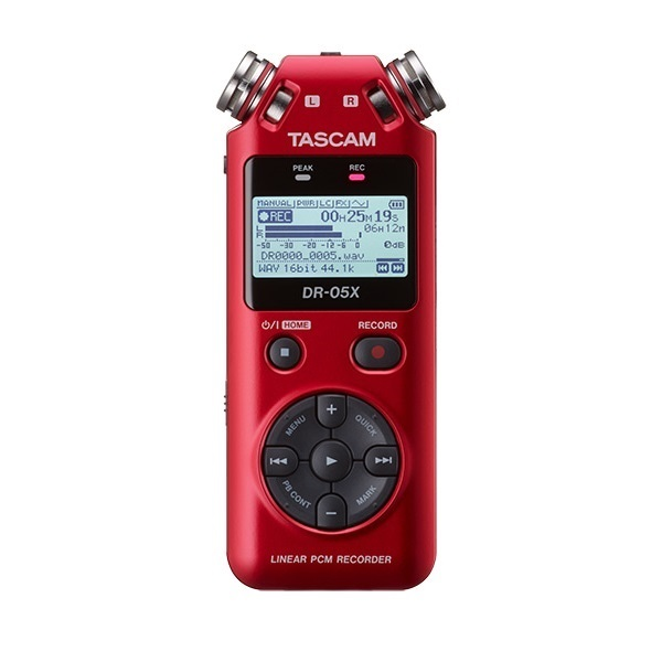 타스캠 PRO 레코더, DR-05X, RED