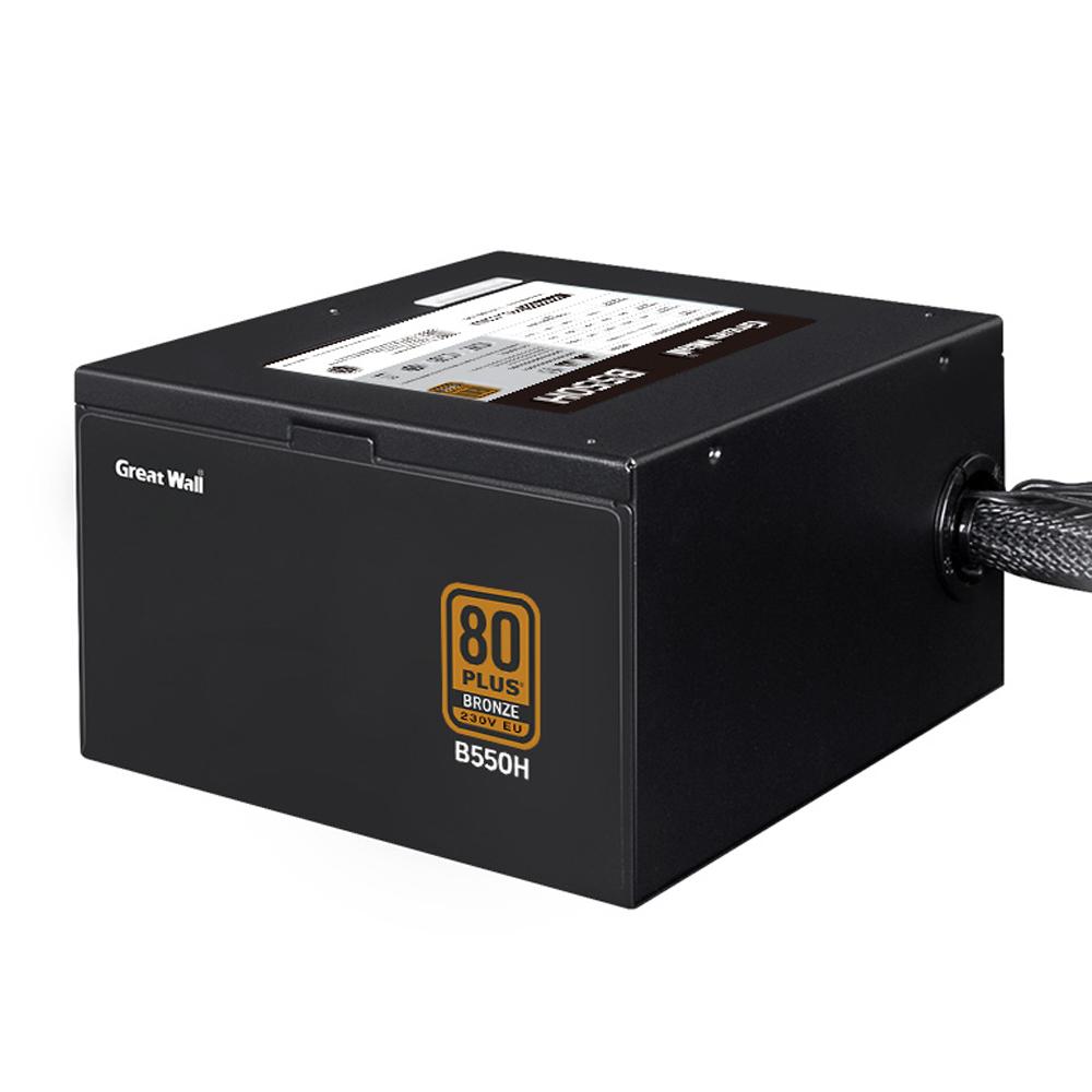 GreatWall 80PLUS BRONZE 230V 파워 서플라이 ATX B550H