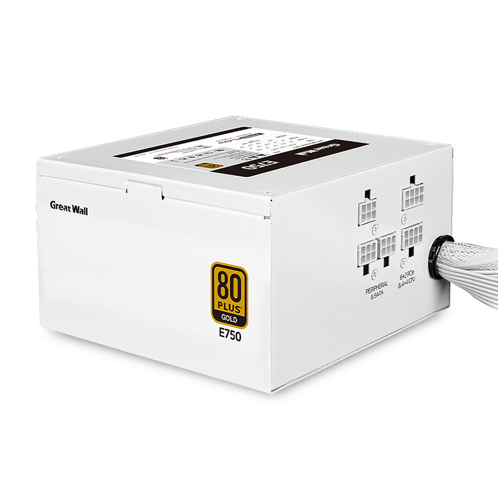 GreatWall FROZEN CP 80PLUS GOLD 모듈러 파워 서플라이 ATX E750