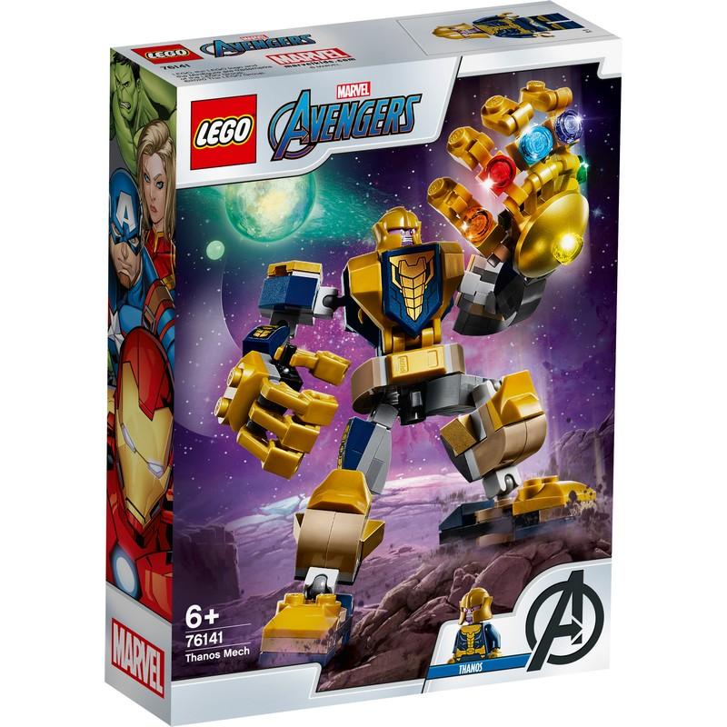레고 슈퍼히어로 타노스 맥 로봇 76141, 혼합 색상